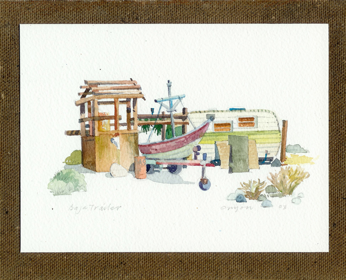 Travel Watercolors